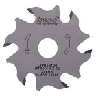 Craft Zaagblad Lamellenfrees 100° 6 T x 22mm