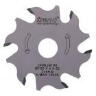 Craft Zaagblad Lamellenfrees 100° 6 T x 22mm Dun