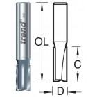 6.3mm groeffrees 2 snijvlakken 3/22X1/4TC