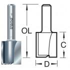10mm groeffrees 2 snijvlakken 3/61X1/4TC