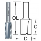 10mm groeffrees 2 snijvlakken 3/62X1/2TC