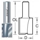 17mm groeffrees 2 snijvlakken 4/25X1/4TC