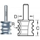 9/03X1/4TC Kraalprofiel drievoudig