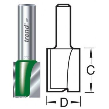 20.0mm Groeffrees 2 snijvlakken C030CX1/2TC