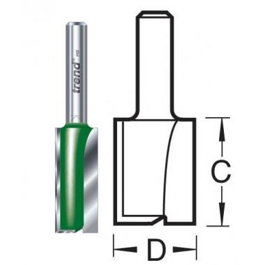 12.7mm Groeffrees 2 snijvlakken C153X1/2TC