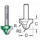 3.2mm radius Ogee C109X8MMTC