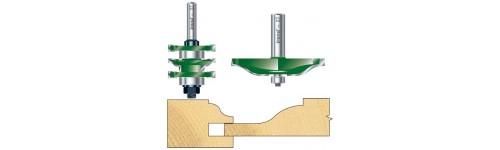 Paneelfeesset S-vorm met onderlager
